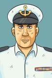 Navy Portrait Royalty Free Stock Image
