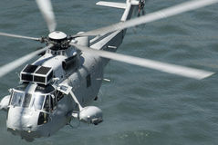 Navy rescue chopper Stock Photos