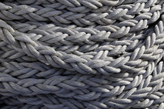 Navy rope background Royalty Free Stock Photography
