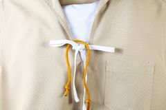 The navy scout uniform. Stock Image