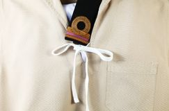 The navy scout uniform. Royalty Free Stock Photo