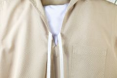 The navy scout uniform. Royalty Free Stock Photography