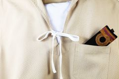The navy scout uniform. Stock Photography