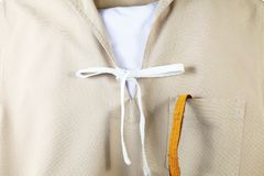 The navy scout uniform. Royalty Free Stock Photos