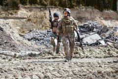 Navy SEAL Team Stock Photography