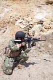 Navy SEAL Team Stock Image