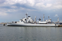 Navy ship Royalty Free Stock Photography