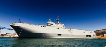 Navy ship Stock Images