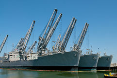 Navy Ships Stock Image