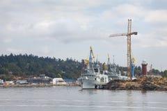 Navy Shipyard, Victoria Royalty Free Stock Photos