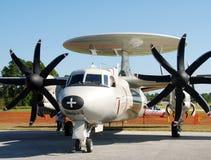 Navy Spy Plane Royalty Free Stock Photography