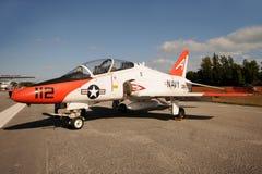 Navy training jet Stock Photo