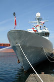 Navy warship frigate Stock Photography