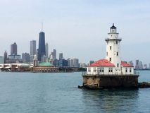 Navy Pier Lighthouse Stock Images