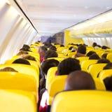 Nawa wśrodku samolotu obraz royalty free