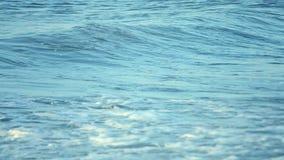 Nawadnia i fala morza krajobrazu scenerii kraju sceny tło zdjęcie wideo