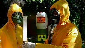 Nawalna chemiczna reakcja zbiory wideo