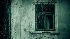 Nawiedzająca horror sekwencja horroru materiał filmowy zbiory