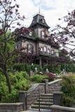 Nawiedzający dom Zdjęcie Stock