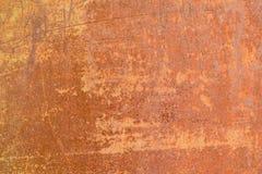 Nawierzchniowa tekstura stary metal z szczątkami farba, fotografia royalty free