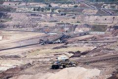Nawierzchniowy coalmining Zdjęcia Royalty Free