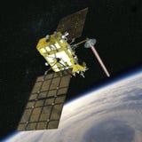 nawigaci nowożytna satelita Fotografia Royalty Free