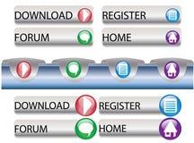 nawigator sieć Fotografia Stock