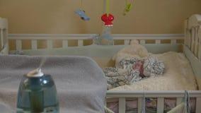 Nawilżacza dziecka dosypianie zdjęcie wideo