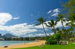 Nawiliwili, île de Kauai, Hawaï, Etats-Unis Photographie stock libre de droits