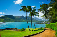 Nawiliwili, isola di Kauai, Hawai, U.S.A. Fotografia Stock