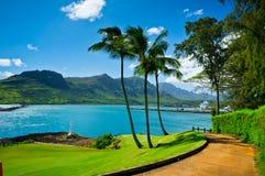 Nawiliwili Kauai ö, Hawaii, USA Arkivfoto