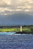 Nawiliwili Lighthouse on Kauai, Hawaii Royalty Free Stock Image