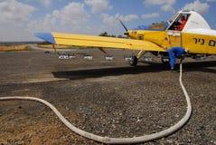 Nawozowy samolot Zdjęcie Royalty Free