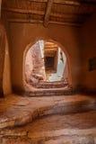 Nawy wśrodku fortu Ait Ben Haddou Obraz Stock