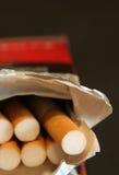 nawyk tytoniu Zdjęcia Royalty Free