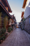Naxi house in Lijiang old town, Y Stock Photography