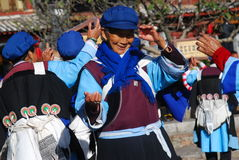 Naxi  people in southwest China Stock Photography