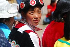 Naxi  people in southwest China Royalty Free Stock Image