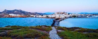Naxos希腊    免版税库存图片