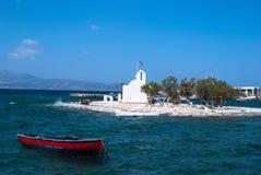 Naxos, îles de Cyclades, Grèce Images stock