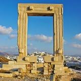 Naxos, alter Tempel Stockbilder