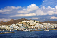 Naxos Chora Royalty Free Stock Images