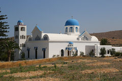 Naxos Church Stock Image