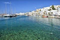 Naxos, Cyclades, Grèce Images libres de droits