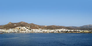 Naxos in Greece at evening time Royalty Free Stock Photos