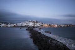 Naxos Griechenland die Kykladen stockfotografie