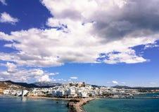 Naxos, Griekenland, reis, eiland, castro, royalty-vrije stock foto