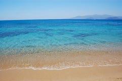 Naxos Insel-Strandansicht Lizenzfreies Stockbild