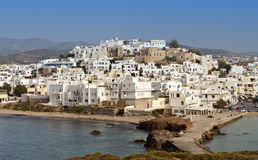 Naxos island in Greece. Naxos island at the Cyclades of the Aegean sea in Greece Royalty Free Stock Photos