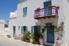 Naxos miasteczko, Grecja Zdjęcie Royalty Free